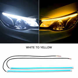 DRL Kit Stick-on type white + sequential amber