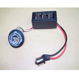LED Error Cancellor Set 1156 single contact