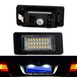 LED License Lamp Set BMW