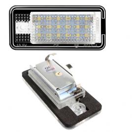 LED License Lamp Set Audi Single Screw Type